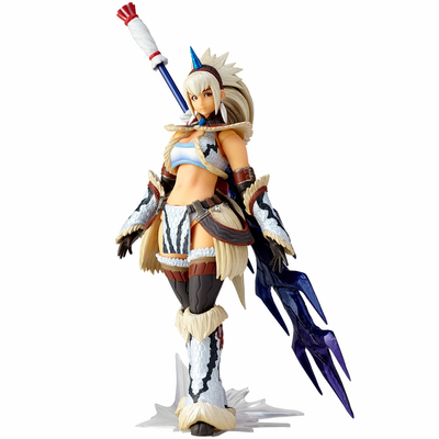 Figurine Monster Hunter X Vulcanlog Monhan Revo Hunter Swordswoman Kirin Series 16cm