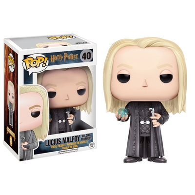 Figurine Harry Potter Funko POP! Lucius Malfoy (Holding Prophecy) 9cm