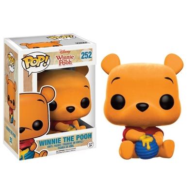 Figurine Winnie l´ourson Funko POP! Winnie The Pooh (Flocked) 9cm