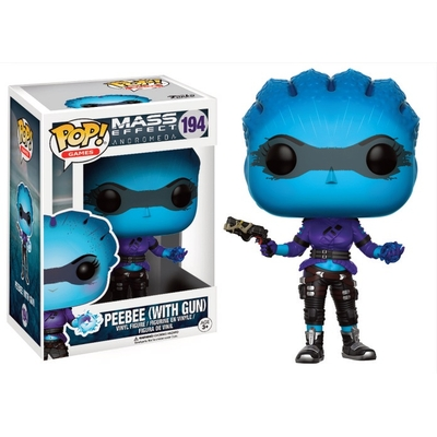 Figurine Mass Effect Andromeda Funko POP! Peebee (With Gun) 9cm
