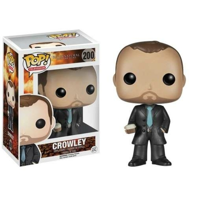 Figurine Supernatural Funko POP! Crowley 9cm