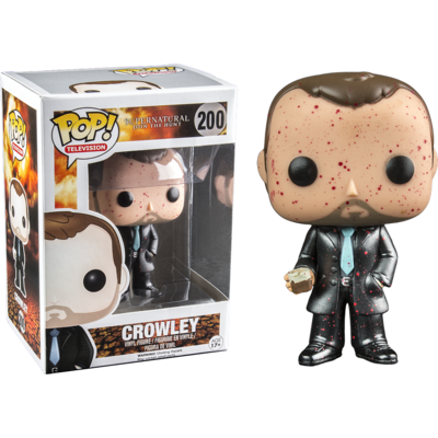 Figurine Supernatural Funko POP! Crowley blood 9cm