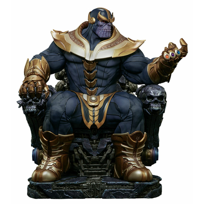 Statuette Marvel Comics Thanos on Throne 54cm