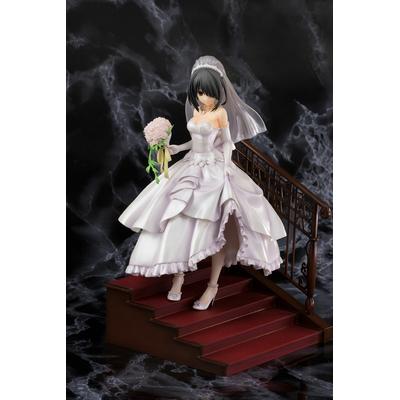 Statuette Date A Live II Kurumi Tokisaki Wedding Ver. 22cm
