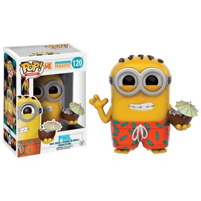 Figurine Moi, moche et méchant Funko POP! Paradise Phil 9cm