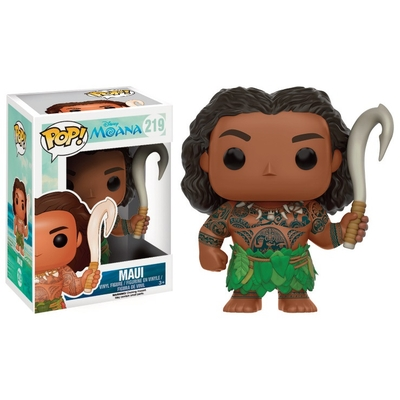 Figurine Vaiana Funko POP! Disney Maui with Weapon 9cm