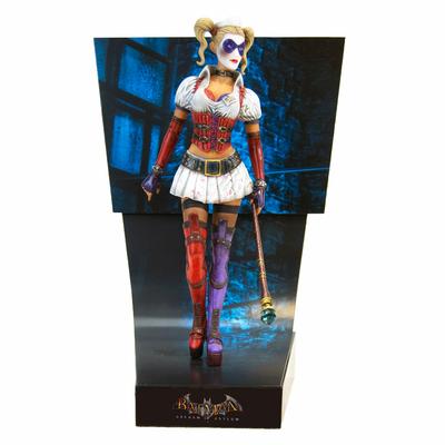Statuette Batman Arkham Asylum Premium Motion Harley Quinn 25cm