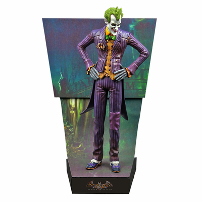 Statuette Batman Arkham Asylum Premium Motion The Joker 25cm