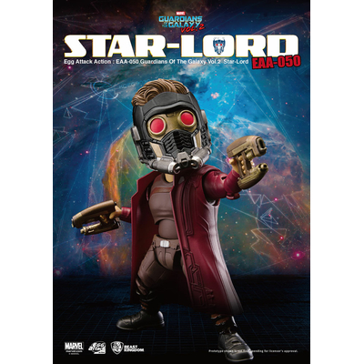 Figurine Les Gardiens de la Galaxie Vol. 2 Egg Attack Star-Lord 15cm