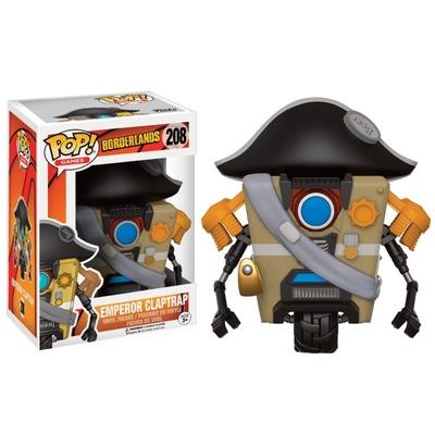 Figurine Borderlands Funko POP! Emperor Claptrap 9cm