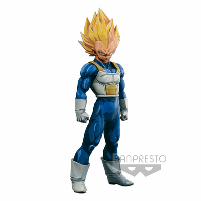 Figurine Dragon Ball Z Super Master Stars Piece Vegeta Manga Dimensions 30cm