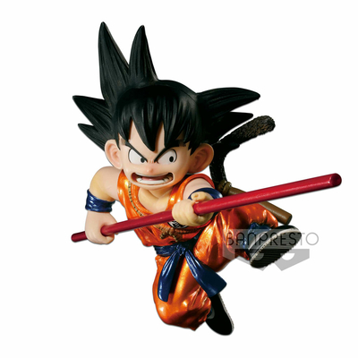 Figurine Dragon Ball Z SCultures Young Son Goku Special Metallic Color Ver. 12cm