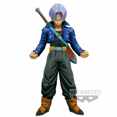 Figurine Dragon Ball Z Super Master Stars Piece Trunks Manga Dimensions 24cm
