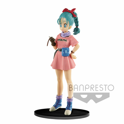 Figurine Dragon Ball Z SCultures Big Budoukai 7 Bulma 16cm