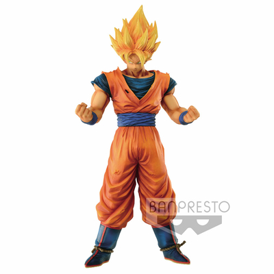 Figurine Dragon Ball Z Grandista Resolution of Soldiers Son Goku 28cm