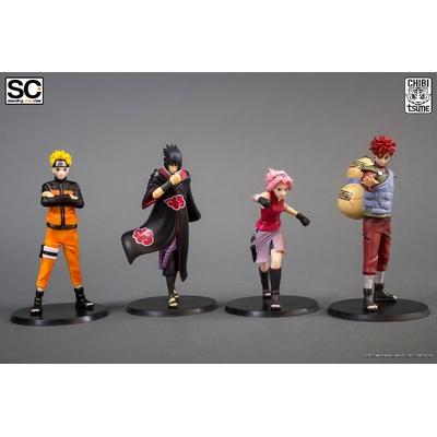 Pack de 4 Figurines Chibi Tsume Standing Characters Naruto Shippuden