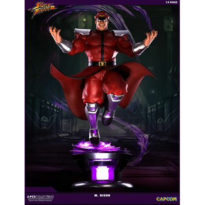 Statuette Street Fighter V - M. Bison 68cm