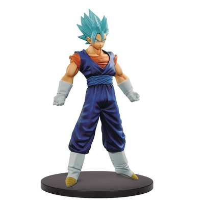 Figurine Dragon Ball Super DXF Super Warriors Vol 3 Super Saiyan Blue Vegeto 18cm