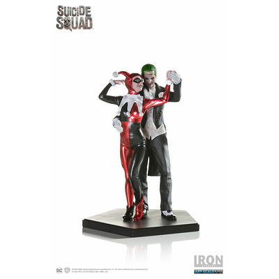 Statuette Suicide Squad Deluxe Harley Quinn & The Joker 19cm