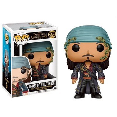 Figurine Pirates des Caraïbes 5 Disney Funko POP! Ghost of Will Turner 9cm