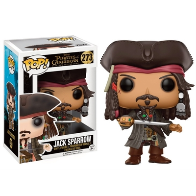 Figurine Pirates des Caraïbes 5 Disney Funko POP! Jack Sparrow 9cm