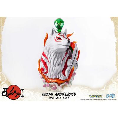 Buste Okami Amaterasu 67cm - First 4 Figures