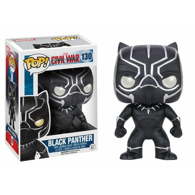 Figurine Captain America: Civil War Funko POP! Black Panther 9cm