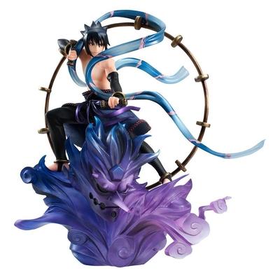 Statuette Naruto Shippuden G.E.M. Remix Series Sasuke Uchiha Raijin 18cm