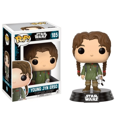 Figurine Star Wars Rogue One Funko POP! Bobble Head Young Jyn Erso 9cm