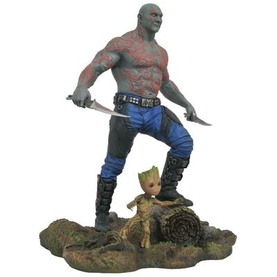 Statuette Les Gardiens de la Galaxie Vol. 2 Marvel Gallery Drax & Baby Groot 25cm