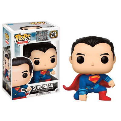 Figurine Justice League Movie Funko POP! Superman (Landing Pose) 9cm