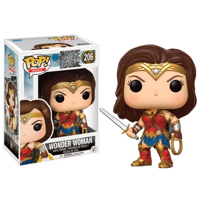 Figurine Justice League Movie Funko POP! Wonder Woman 9cm