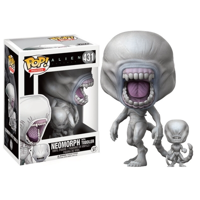 Figurine Alien Covenant Funko POP! Neomorph & Toddler 9cm