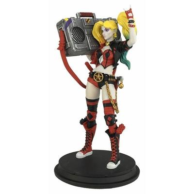 Statuette DC Rebirth Boom Box Harley Quinn SDCC 2017 Exclusive 20cm