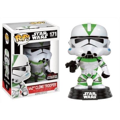 Figurine Star Wars Funko POP! Celebration 2017 Bobble Head 442 Clone Trooper 9cm