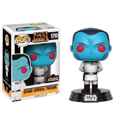 Figurine Star Wars Rebels Funko POP! Bobble Head Grand Admiral Thrawn 9cm