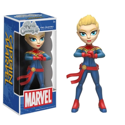 Figurine Marvel Comics Rock Candy Captain Marvel 13cm