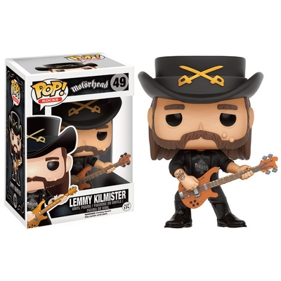 Figurine Motorhead Funko POP! Rocks Lemmy 9cm