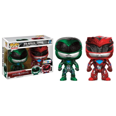 Pack Figurines Power Rangers Funko POP! Rita Repulsa & Zordon 9cm