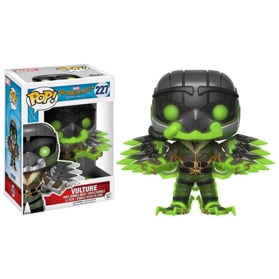 Figurine Spider-Man Homecoming Funko POP! Marvel GITD Vulture 9cm
