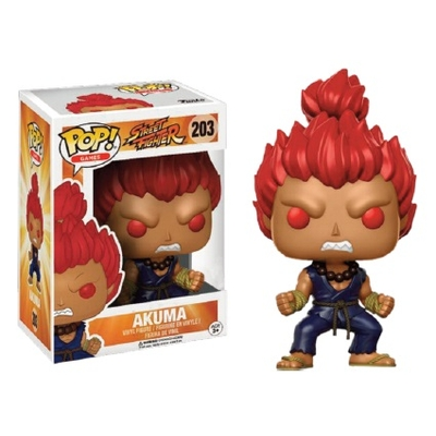 Figurine Street Fighter Funko POP! Akuma 9cm