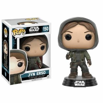 Figurine Star Wars Rogue One Funko POP! Bobble Head Jyn Erso Hooded 9cm