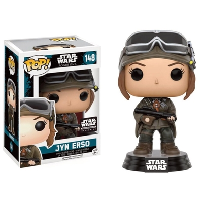 Figurine Star Wars Rogue One Funko POP! Bobble Head Jyn Erso (Mountain Gear) 9cm