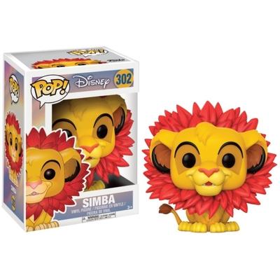 Figurine Le Roi lion Funko POP! Disney Simba Leaf Mane 9cm