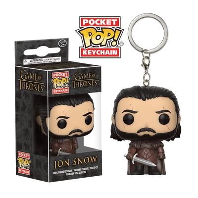 Porte clés Le Trône de fer Funko POP! Jon Snow 4cm