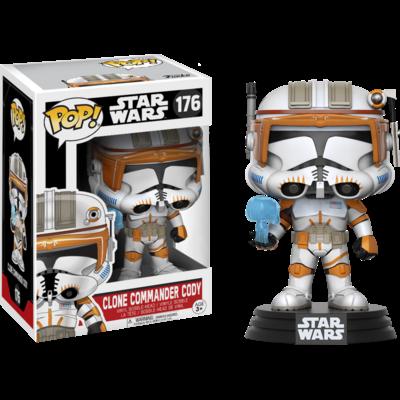 Figurine Star Wars Funko POP! Bobble Head Clone Commander Cody 9cm