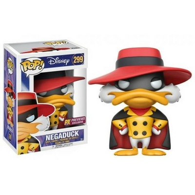 Figurine Myster Mask Funko POP! Disney Negaduck 9cm