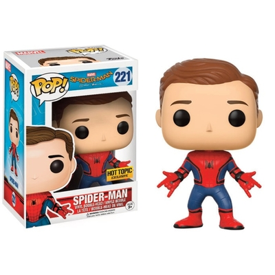 Figurine Spider-Man Homecoming Funko POP! Spider-Man (Unmasked) 9cm