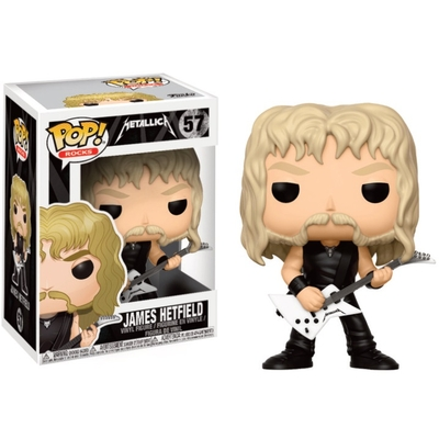 Figurine Metallica Funko POP! Rocks James Hetfield 9cm
