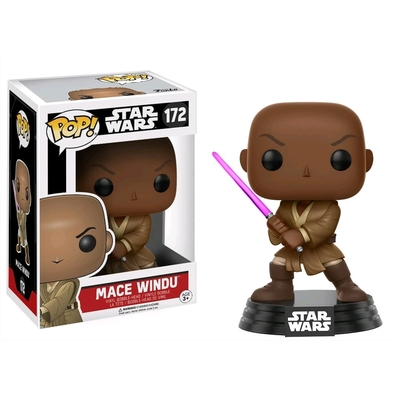 Figurine Star Wars Funko POP! Bobble Head Mace Windu 9cm